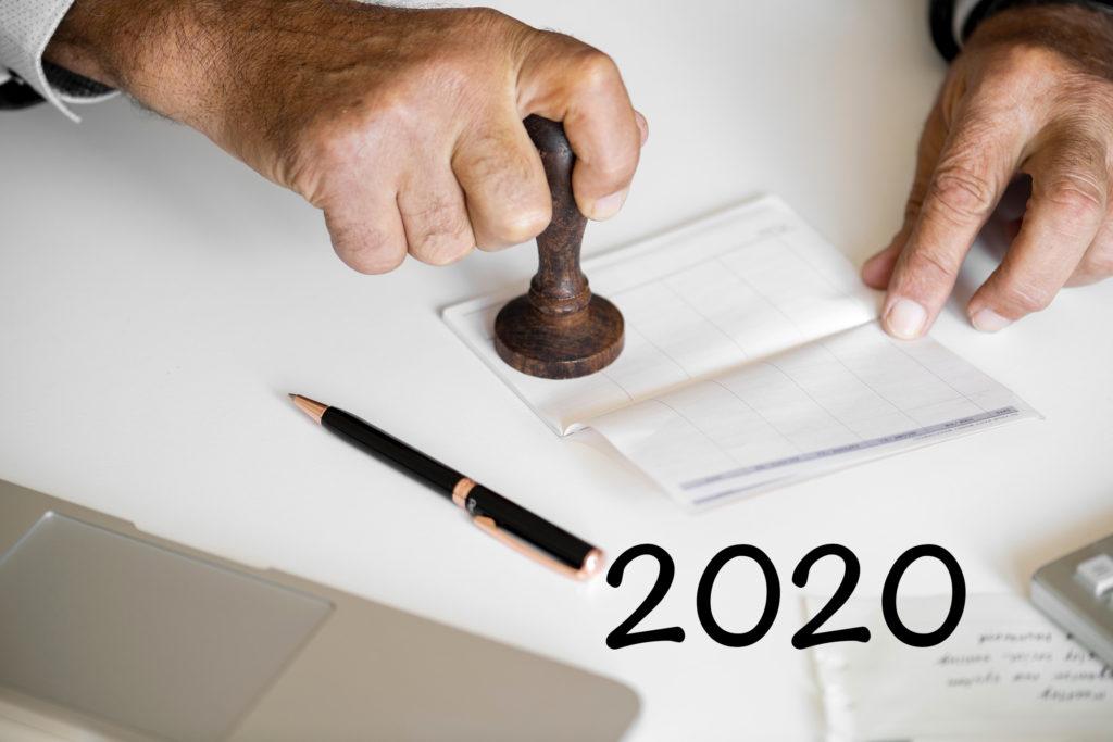 Décrets année 2020